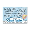Pacon Colored Paper Chart Tablets - Recycled - 1Each