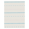"Pacon Zaner-Bloser Broken Midline Ruled Paper - 500 Sheets - Printed - 30 lb Basis Weight - 8"" x 10.50"" - White Paper - 500 / Pack"