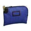 "SecurIT Nylon Night Deposit Bag - 12"" Width x 9"" Length - Blue - Nylon - 1Each - Deposit"