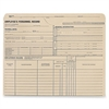 "Employee's Personnel Record Jackets - 9 1/2"" x 11 3/4"" Sheet Size - 1 1/2"" Expansion - 11 pt. Folder Thickness - Manila - 25 / Box"
