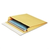 "Quality Park Open Side Expansion Mailer - Expansion - 10"" Width x 13"" Length - 2"" Gusset - 40 lb - Peel & Seal - 100 / Carton - Brown Kraft"