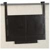 Rubbermaid Classic Hot File Legal Hanger - Plastic - Dark Brown - 1 / Pair