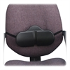 "Softspot Backrest - Non-abrasive, Anti-static, Washable, Elastic Strap - Strap Mount - 14"" x 2.5"" x 8"" - Black"