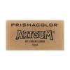 "Prismacolor Artgum Eraser - Lead Pencil Eraser - Non-toxic - 1"" Height x 2"" Width - 1Each - Beige"