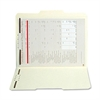"SJ Paper Reinforced Folder with Fasteners - Letter - 8 1/2"" x 11"" Sheet Size - 2 Fastener(s) - 2"" Fastener Capacity for Folder - 1/3 Tab Cut - Assorted Position Tab Location - 11 pt. Folder Thickness"