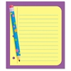 "Trend Cheerful Design Note Pad - 50 Sheets - Printed - 5"" x 5"" - 50 / Pad"