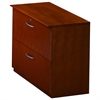 "Corsica Two-Drawer Lateral File - 36"" x 19"" x 29.5"" - 2 - Beveled Edge - Material: Wood - Finish: Cherry Veneer, Sierra Cherry"