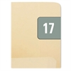 "Smead ETS Color-Coded Month and Year Labels - 1"" Width x 0.50"" Length - 25 / Sheet - Rectangle - Gray - 250 / Pack"