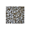 Legion furniture Mosaic Mix With Stone-Sf, Brown, Silver