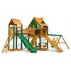 Pioneer Peak Treehouse Swing Set w/ Timber Shield