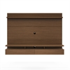 Manhattan Comfort City 2.2 Floating Wall Theater Entertainment Center in Nut Brown