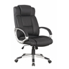Manhattan Comfort Presidentential Washington Office Chair in Black - Set of 2