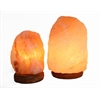 "Accentuations BY 6"" and 8"" Natural Shaped Himalayan Salt Lamp 1.6 and 1.8. Set of 2 with Dimmer"
