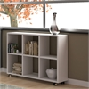 Salvador 6- Shelf Bookcase in White