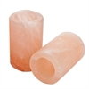 Himalayan Salt Shot Glasses with Plastic Inserts- Set of 2
