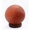 "Accentuations by Manhattan Comfort 7"" Sphere Shaped Himalayan Salt Lamp 1.7 with dimmer"
