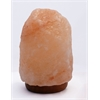 "8"" Natural Shaped Himalayan Salt Lamp 1.8 with dimmer"