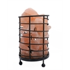 "Accentuations by Manhattan Comfort 4.5"" Cylinder Himalayan Wired Basket Lamp 4.0 with Natural Rocks  with dimmer"