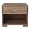 1- Shelf, 1- Drawer Astor Nightstand in Chocolate/ Pro Touch