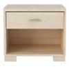 1- Shelf, 1- Drawer Astor Nightstand in Oak Vanilla/ Pro Touch