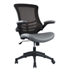 Intrepid High-back Office Chair in Coffee and Grey