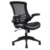 Manhattan Comfort Intrepid High-back  Office Chair in Black- Set of 2