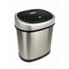 NINE STARS MOTION SENSOR TRASH CAN, 12.1 X 8.4 X 15.2