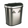 NINE STARS MOTION SENSOR TRASH CAN, 21.3 X 13.0 X 26.2