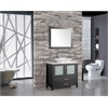 "Jordan 36"" Single Sink Bathroom Vanity Set, Espresso"