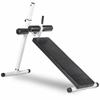 Fitness 10 Position Adjustable Decline Abdominal Bench XM-4380-WHITE