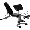 FID Flat Incline Decline Weight Bench with Arm Curl and Leg Developer XM-4418