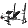 International Olympic Weight Bench with Leg and Preacher Curl Attachment XM-4424