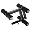 """Universal Leg Extension Attachment Fits Weights Benches With 2"""" X 2"""" Receiver Pinning Front to Back or Side to Side XM-4425.1"""