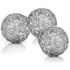 "Modern Day Accents Guita Wire Spheres/4""D - Box of 3"