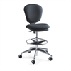 Safco Metro Collection Extended Height Swivel/Tilt Chair, Black Fabric