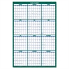 Vertical Erasable Wall Planner, 32 x 48, 2017