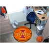 "FANMATS Iowa State Basketball Mat 27"" diameter"