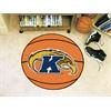 """FANMATS Kent State Basketball Mat 27"""" diameter"""