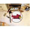 """FANMATS Illinois State Baseball Mat 27"""" diameter"""