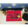 "FANMATS Illinois State Starter Rug 19""x30"""