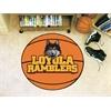 "FANMATS Loyola Chicago Basketball Mat 27"" diameter"
