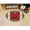 """FANMATS MiamiOhio Football Rug 20.5""""x32.5"""""""