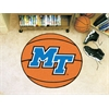 "FANMATS Middle Tennessee State Basketball Mat 27"" diameter"