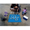 FANMATS Middle Tennessee State Tailgater Rug 5'x6'
