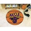 """FANMATS Minnesota State - Mankato Basketball Mat 27"""" diameter"""