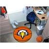 "FANMATS Fresno State Basketball Mat 27"" diameter"