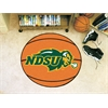 "FANMATS North Dakota State Basketball Mat 27"" diameter"