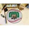 "FANMATS Ohio Baseball Mat 27"" diameter"