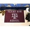 """FANMATS Texas A&M Starter Rug 19""""x30"""""""