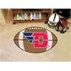 "FANMATS Dayton Football Rug 20.5""x32.5"""